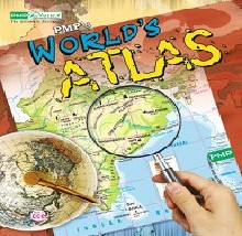 world atlas book for school